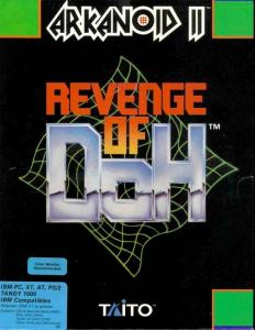 Постер Arkanoid 2: Revenge of Doh для DOS