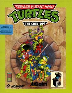 Постер Teenage Mutant Ninja Turtles 2: The Arcade Game