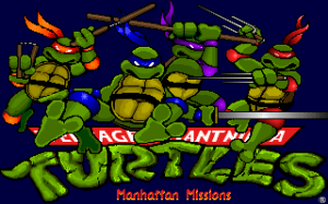 Teenage Mutant Ninja Turtles 3: Manhattan Missions