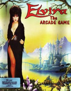Постер Elvira: The Arcade Game