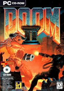 Постер DOOM 2: Hell on Earth для DOS